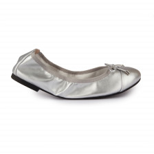 METALLIC FOLDABLE BALLERINAS