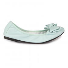 UNLINED FOLDABLE BOW BALLERINAS