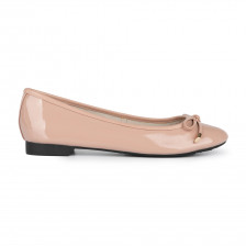 SOFT PATENT LEATHER BALLERINA